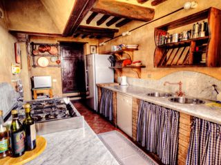 Lucca villa photo - kitchen