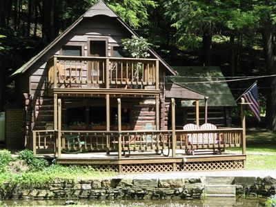 Coudersport cabin rental - Vintage, Authentic Hand-Built Log Cabin