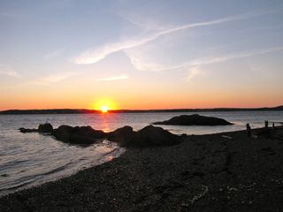 Eastport house photo - Sunrise at the beach