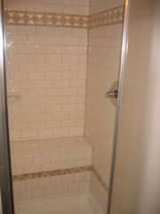 Old Orchard Beach cottage photo - Tiled Bathroom