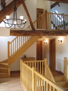Llanrothal barn rental - First and Second Floor Galleries