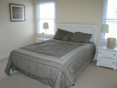 1st Floor Bedroom with Queen Bed  shares hall bath