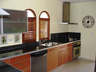Simpson Bay condo photo - Fully equipped kitchen plus propane BBQ