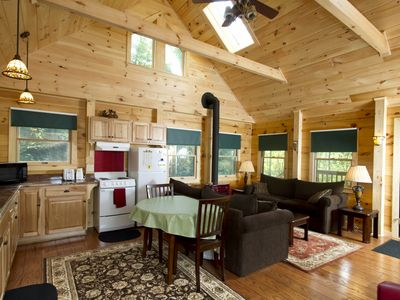 Bath cabin rental - Great Room