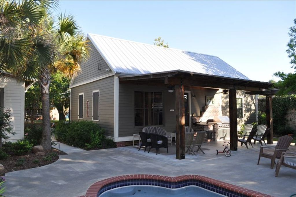 Acadian Style Home With Private Garden Pool Vrbo