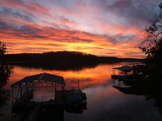 Spectacular sunsets anytime of the year! - Gravois Mills house vacation rental photo