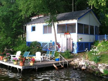Lake Dunmore cabin rental - Lookout Cabin