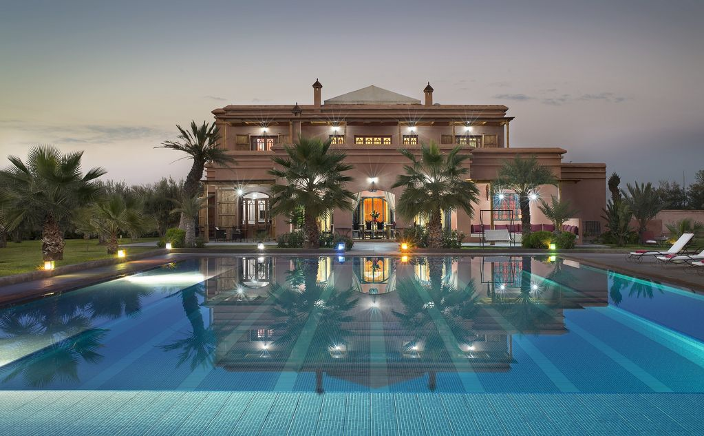 Luxury Villa Moonlight Atlas Marrakech Location De