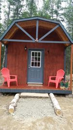 Talkeetna cabin rental - Dry Cabins with shared Bathhouse