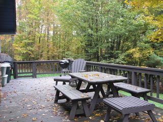 Margaretville cabin photo - Enjoy some outdoor time!