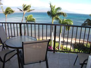 Maalaea condo photo - Whale Watch From Lanai With Views Of Mt. Haleakala & Molokini Island