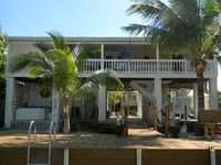 Canal front 3 bedroom home with 60 floor dock and hot tub