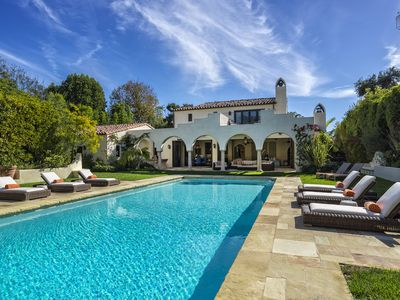 Montecito Memories is a resort-like estate with lush grounds, a private pool and separate guest house.