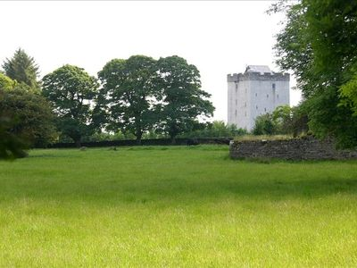 County Mayo castle rental - Turin Castle Side View