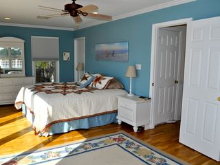 Bethany Beach house photo - The sunny master bedroom has a beautiful bay view.