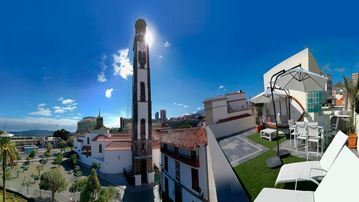 Cozy apartment in the center of Santa Cruz de Tenerife with Lift, Internet, Washing machine, Terrace