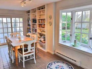 West Tisbury house photo - Dining Area Has French Doors That Open To Deck For Outdoor Entertaining & Dining