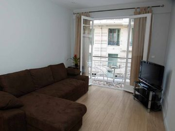 Gambetta - Quartiers des Fleurs apartment rental - Living room & terrace