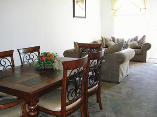 Wildflower Ridge villa photo - Front, quiet lounge/ fornal dining room (no TV!)