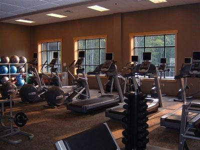 Fitness Room in the Community Center