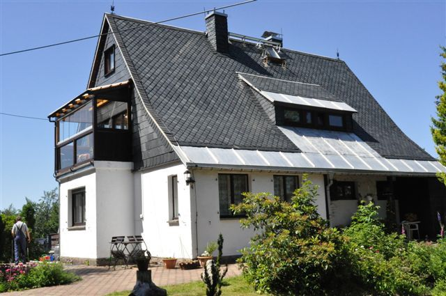 2 apartment near Dresden - idyllic location - walking paths from the doorstep -Winter + Summer