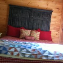 Jay Peak cabin photo - The Main Floor bedroom with king size bed