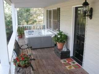 Durango cottage photo - Hot tub under western porch
