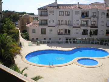 Benidorm Area apartment rental - View over pool from balcony