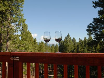 Enjoy a Glass of Wine with a Great View