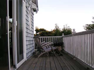 Montauk house photo - A perfect place to enjoy the sunrise and sunset with a book or drink.