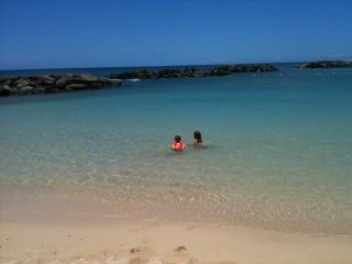 Ko Olina villa photo - Blue ocean lagoon is perfect for children