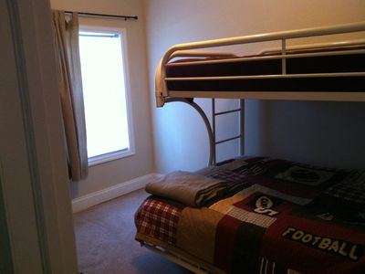 bedroom #3 with Twin/Full Bunkbed