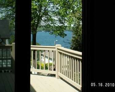Beautiful Water view from Master Bedroom Deck!
