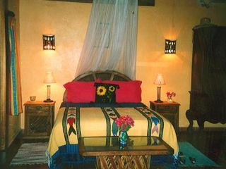 Sayulita house photo - ONE OF TWO AIRCONDITIONED MASTER SUITES WITH QUEEN BED PLUS LARGE DAYBED/BATH