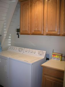 Indoor laundry Area