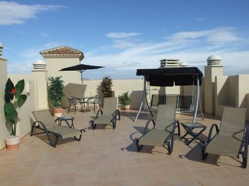 Roda apartment rental - Large Roof Terrace