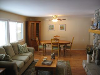 Hillman cottage photo - A view of the living/dining area
