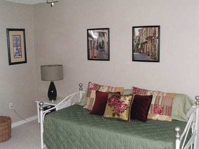Hernando Beach house rental - Third bedroom-two twin beds or convert to full size bed