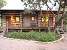 Two cabins each with two bedrooms and two baths