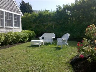 Chatham house photo - Side Yard - Sunshine all day long with beautiful h