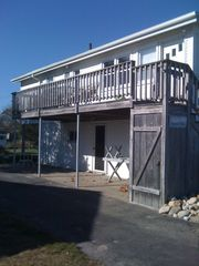 Side View and Deck - Misquamicut house vacation rental photo