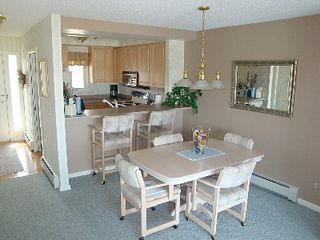 Petoskey condo photo - Dining area with counter