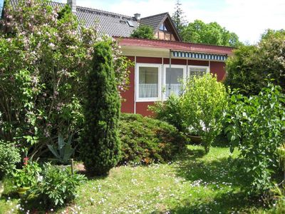 Bungalow right on Peenestrom incl. Free rowing boat and bicycle use