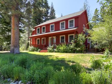Tahoe Paradise house rental - Big Red - 5 BR home surrounded by natural beauty (with a little help from the owner)