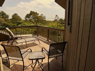 Kiawah Island villa photo - 3rd floor deck. Very picturesque, very private! Full on ocean views and breezes.