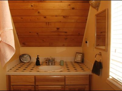Payson chalet rental - another full bath