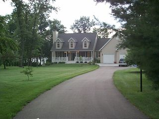 Lake Wisconsin house photo - Front yard is perfect for soccer/football/volleyball etc.