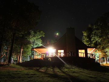 Jasper cabin rental - On a clear night you'll be able to see the Milky Way.