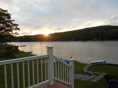 Lakehouse near Cobleskill (under an hour to Cooperstown).  Canoes and Campfires.