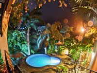 Luxury pool apt. in rainforest, spectacular beach, monkeys mynewfeed toucans
